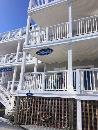 Southport, Carolina del Nord: condo # 5, right across from the marina where the boat is