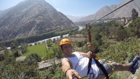 Lunahuana, Peru: disfrutar de la adrenalina en contacto con la naturaleza, la mejor vista del paisaje