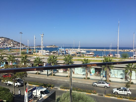 SENTIDO Marina Suites- Adult Only: View from the restaurant balcony