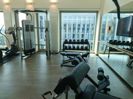 Fitnessraum hotel  Fitnessraum - Picture of Steigenberger Hotel Am Kanzleramt, Berlin ...