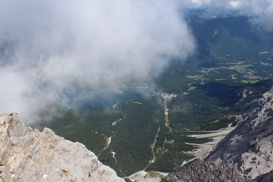 Zugspitze : View from the top