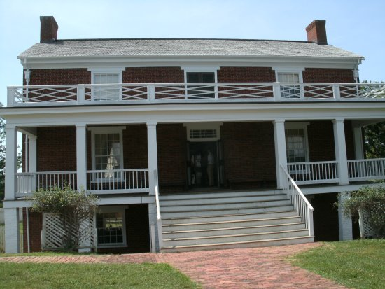 Appomattox, VA: Actual site of surrender, the McLean house.