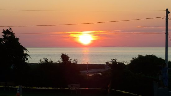 Dennis, MA: Sunset at Corporation Beach.