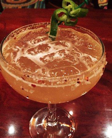 Eloy, AZ: spicy margarita