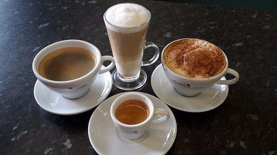 Athlone, Ireland: Barista Coffee