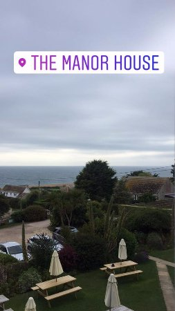 The Manor House: View from room 2