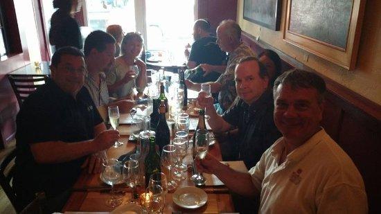 Stonington, كونيكتيكت: byob dinner