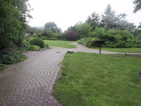 The great lake garden in the Park is a nice place to learn about the ...