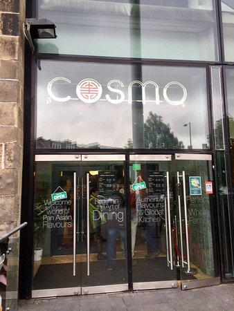 At Cosmos Picture of COSMO Edinburgh Edinburgh TripAdvisor