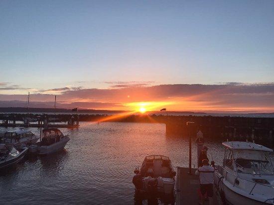Edmonds, WA: sunset dinner