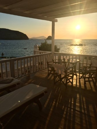 Nefeli Sunset Studios: Balcony of room 5