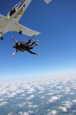 Frankfort, IN: My first jump at Skydive Indianapolis