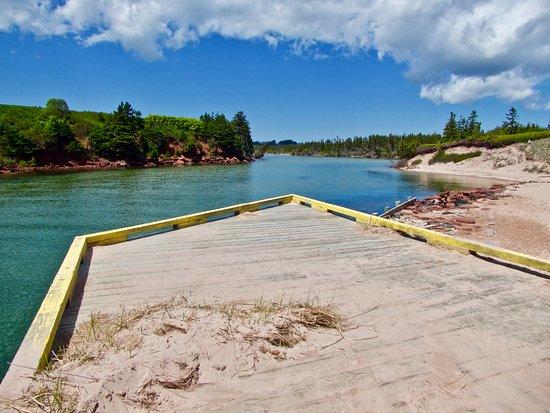 Souris, Canada: Basin Head Provincial Park