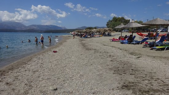 Mavrovouni Beach: Παραλία Μαυροβούνι