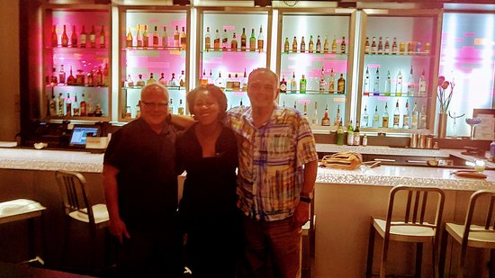Aloft Charlotte Uptown at the EpiCentre: Danille with Keith and Michael Kelly