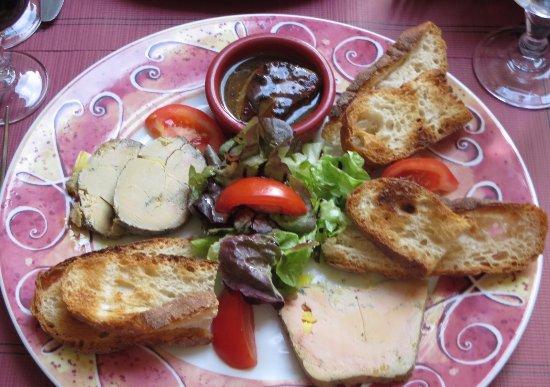 Auberge de la Salamandre : Foie gras