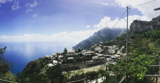 Montepertuso, Italia: view from our room