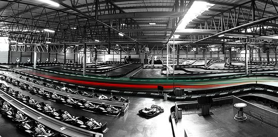 Karting Eupen: Extreme long indoor circuit