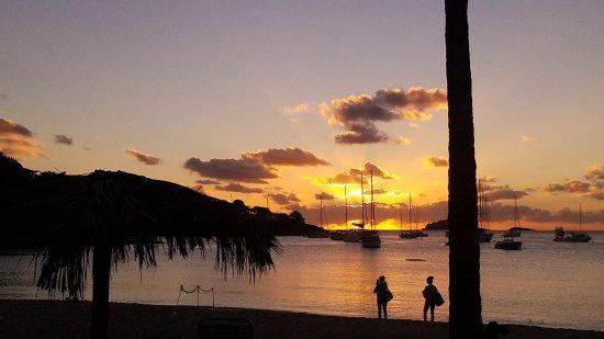 Water Island, St. Thomas: Great view from Honeymoon Beach.