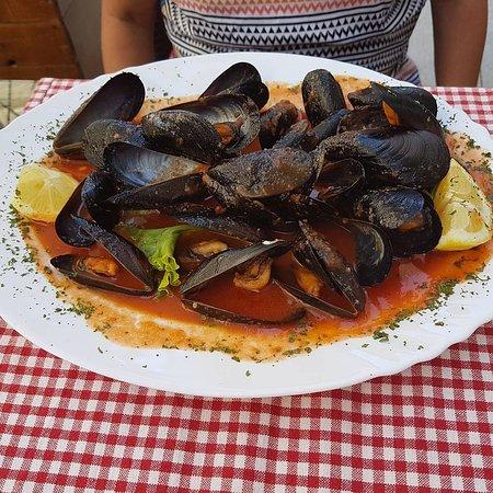 Ivan Dolac, Kroatia: Great lunch.