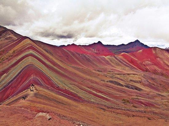 Cusco Region, Peru: MONTANHA COLORIDA,  #RAIMBOW MOUNTAIN Cordilheiras dos Andes