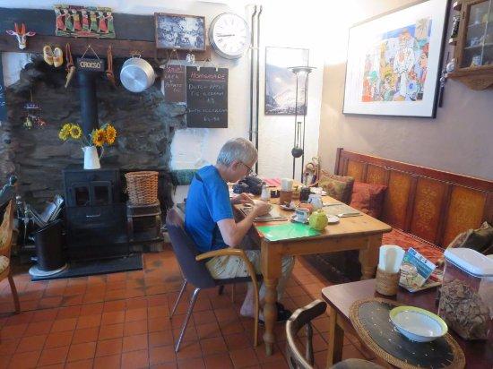 Rhyd Ddu, UK: De ontbijtruimte