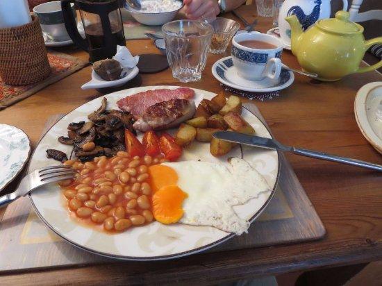 Rhyd Ddu, UK: full breakfast