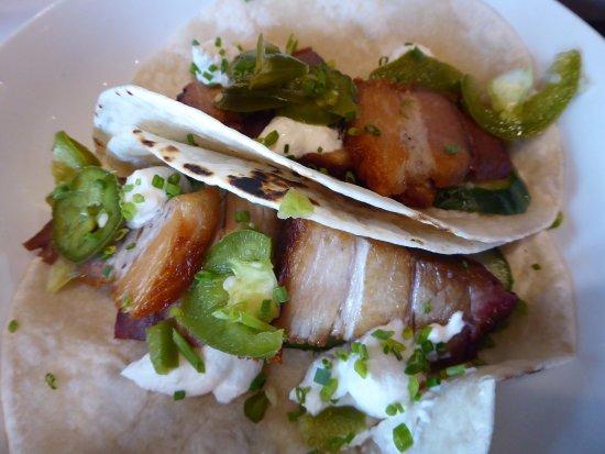 Pittsfield, ماساتشوستس: Pork belly tacos