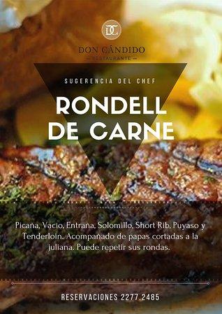 Restaurante Don Candido : Rondel de carne