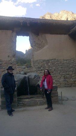 Region Cusco, Peru: Ollantaytambo.