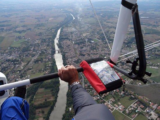 Coufouleux, France: Vol au dessus de Rabastens
