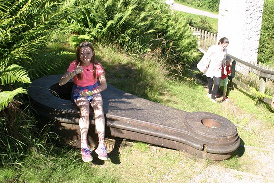 Laxey, UK: Thumbs up from the Eldest