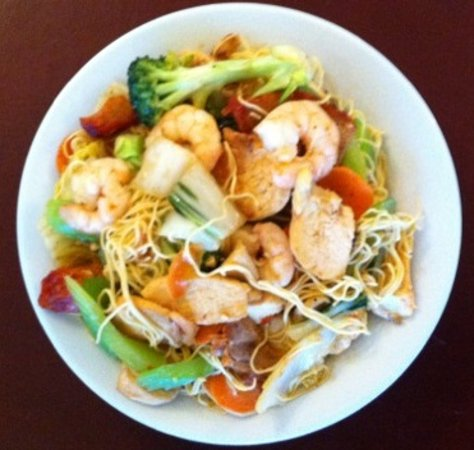 Whitefish, Canada: Cantonese Chow Mein
