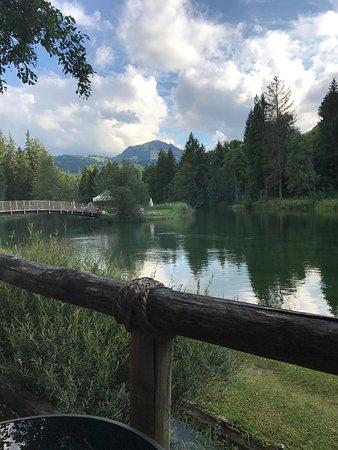 Zweisimmen, Svizzera: Forellensee