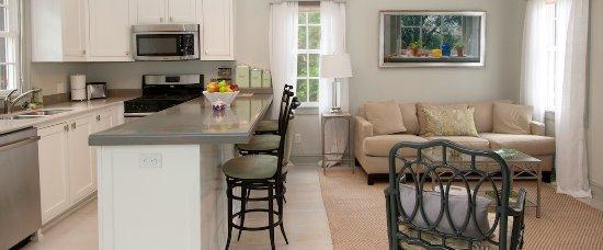 Marcia's Cottages: Marcia's Cottage Kitchen and Den