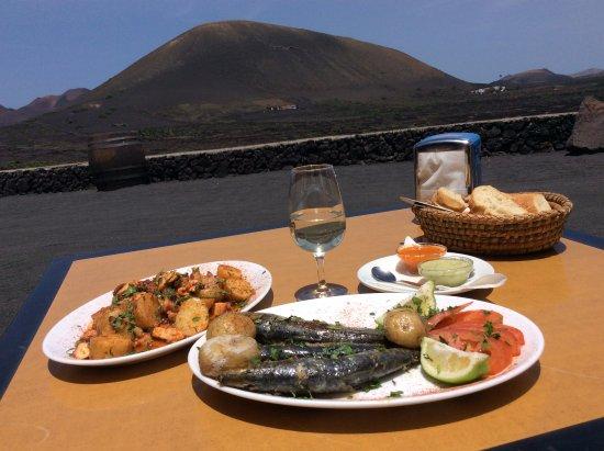 Bodega La Geria- restaurant