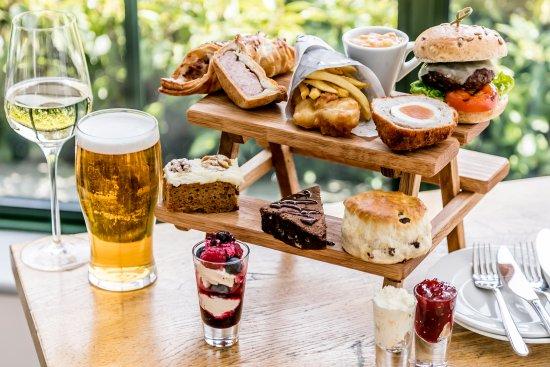 Threshfield, UK: Try our alternative afternoon tea