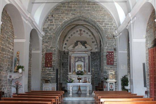 Volastra, Italia: Interno Santuario di Nostra Signora della Salute