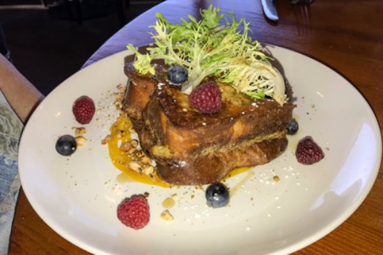 The Juniper Bistro: Stuffed French Toast
