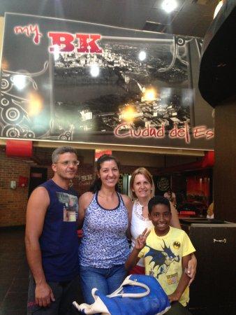 Burger King: Levando a família pra passear