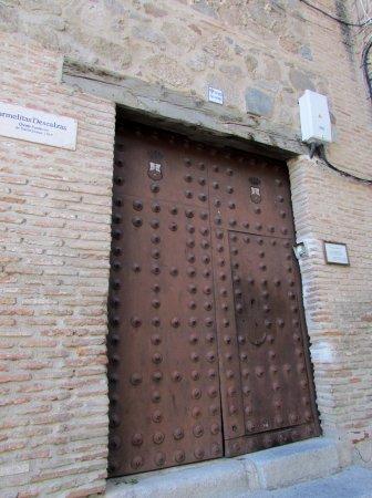 Province of Toledo, Hiszpania: Door by Carmelitas Descalzas
