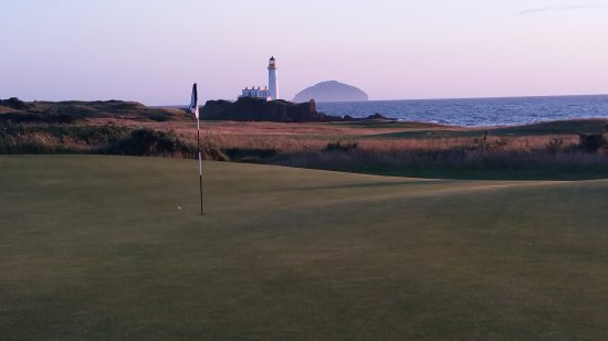 Turnberry Ailsa, complete with Rock & Lighthouse..Txs OldmanFinnegan