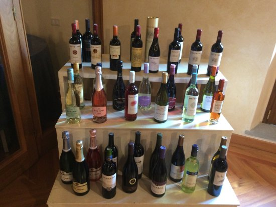 Баньо-Риполи, Италия: Some of the wines produced by Ruffino