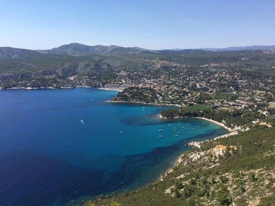Provence, Frankreich: Vue du Cap Canaille - Cassis