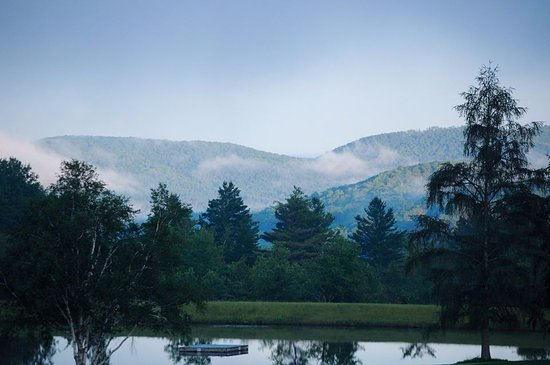 Randolph Center, VT: The view from our spot