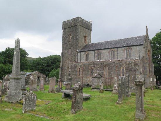 Kilmartin, église et cimetière