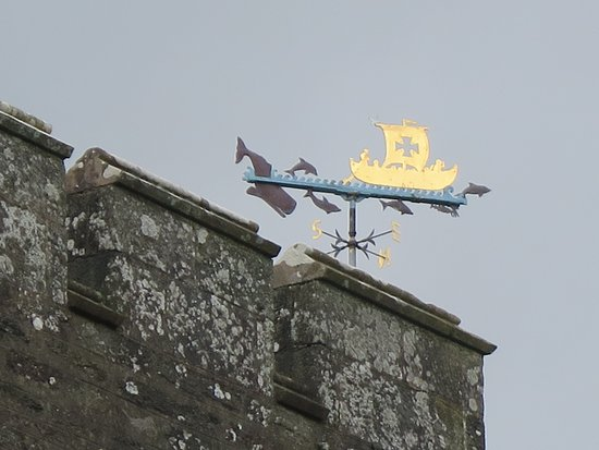 Kilmartin, girouette sur l'église