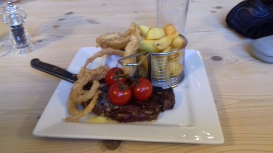 Partney, UK: Steak @ The Red Lion