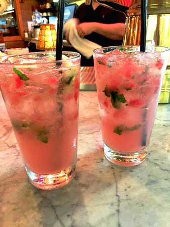 Armonk, NY: Summer watermelon cocktails