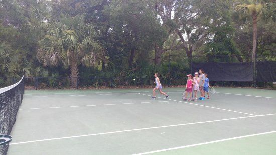 Kiawah Island, Южная Каролина: Group kids lesson